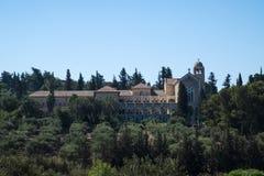 Klooster van Stilte Latroun, Israël Stock Afbeelding