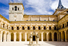 Klooster van Ucles Royalty-vrije Stock Afbeeldingen