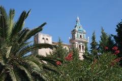 Klooster van Valldemosa Stock Foto