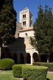 Klooster van Vilabertran, Girona provincie, Spanje Stock Fotografie