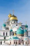 Klooster van Voskresensky het Nieuwe Jeruzalem royalty-vrije stock afbeeldingen