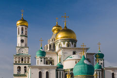 Klooster van Voskresensky het Nieuwe Jeruzalem stock afbeeldingen