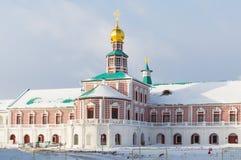Klooster van Voskresensky het Nieuwe Jeruzalem royalty-vrije stock afbeelding