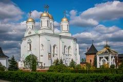 Klooster van Zimnenskiy het Heilige Dormition Stock Foto's