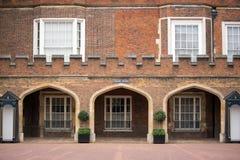 Kloosterhof de bouw, Londen, het UK stock afbeelding
