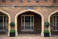 Kloosterhof de bouw, Londen, het UK royalty-vrije stock fotografie