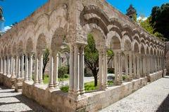 Kloosters San Giovanni Palermo Stock Fotografie