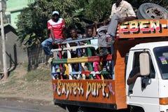 Klopfen Sie Hahn nahe Kappen-Haitianer, Haiti lizenzfreie stockfotos
