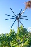 Klopotec、地道传统风车斯洛文尼亚酒路和地方吸引力独特对斯洛文尼亚 免版税图库摄影