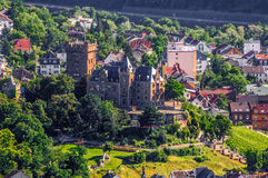 Klopp Castle in Bingen am Rhein, Rheinland-Pfalz. Germany Royalty Free Stock Image