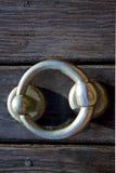 Klopperslanzarote hout in bruin Spanje Royalty-vrije Stock Afbeeldingen