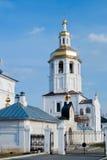 Kloster Abalak Znamenski. Russland Stockbilder