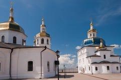 Kloster Abalak Znamenski. Sibirien. Russland Stockbilder
