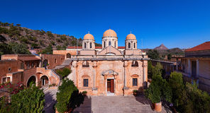 Kloster Agia Triada Royalty Free Stock Photo