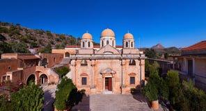 Kloster Agia Triada Royalty Free Stock Photo