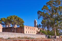 Kloster Agia Triada Obraz Royalty Free