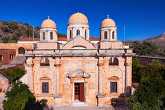Kloster Agia Triada Fotografia Stock