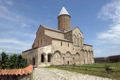 Kloster Alawerdi, Kakheti, Georgia, Europa Royaltyfri Foto