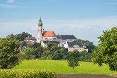 Kloster Andechs Royaltyfri Bild