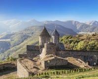 Kloster-armenischer Klosterkomplex Tatev der späten Jahrhunderte IX-early X in Sjunik-Region stockbilder