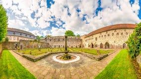 Kloster Arnsburg, Tyskland Royaltyfria Bilder