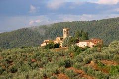 Kloster in Artimino Stockbild