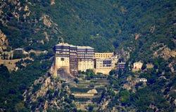 Kloster Athos Greece Royaltyfri Bild