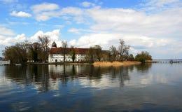 Kloster auf Chiemsee Lizenzfreies Stockfoto