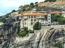 Kloster auf dem Felsen Stockbilder
