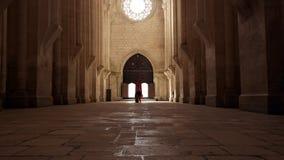 Kloster av Alcobaça, Alcobaça, Portugal Arkivbilder