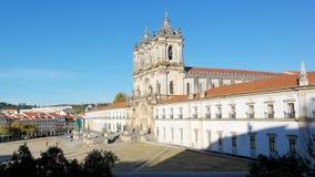 Kloster av Alcobaca, Alcobaca, Portugal Royaltyfri Fotografi