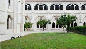 Kloster av Alcobaca, Alcobaca, Portugal Royaltyfria Foton