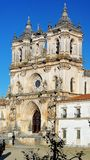 Kloster av Alcobaca, Alcobaca, Portugal Arkivfoton