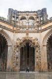 Kloster av Batalha Royaltyfri Foto