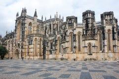 Kloster av Batalha Royaltyfria Bilder
