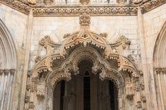Kloster av Batalha Arkivfoto