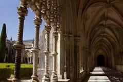 Kloster av Batalha portugal Royaltyfri Fotografi