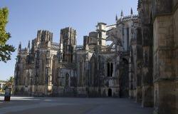 Kloster av Batalha portugal Arkivbild