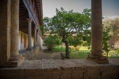 Kloster av bokslutet arkivfoto