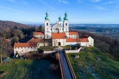 Kloster av cameldolitebröder i Bielany, Krakow, Polen Arkivbild