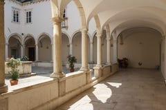 Kloster av den Franciscan kloster arkivfoto