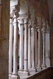 Kloster av den Franciscan kloster av munkarna som är mindre i Dubrovnik fotografering för bildbyråer