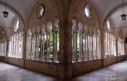 Kloster av den Franciscan kloster av munkarna som är mindre i Dubrovnik royaltyfri fotografi