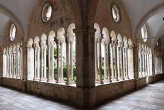 Kloster av den Franciscan kloster av munkarna som är mindre i Dubrovnik arkivfoto