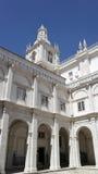 Kloster av den helgonVincent kloster, Lissabon, Portugal Royaltyfri Bild