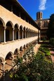 Kloster av den Pedralbes kloster Arkivfoto