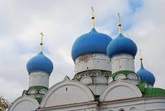 Kloster av epiphanyen i Uglich, Ryssland Royaltyfri Fotografi
