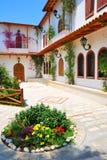 Kloster av Faneromeni på ön av Lefkada royaltyfria foton