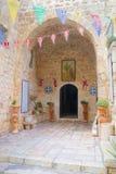 Kloster av helgedomkorset nära den Nayot neighbourhooden av Jeru Royaltyfri Fotografi