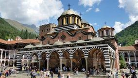 Kloster av helgonet Ivan av Rila Fotografering för Bildbyråer